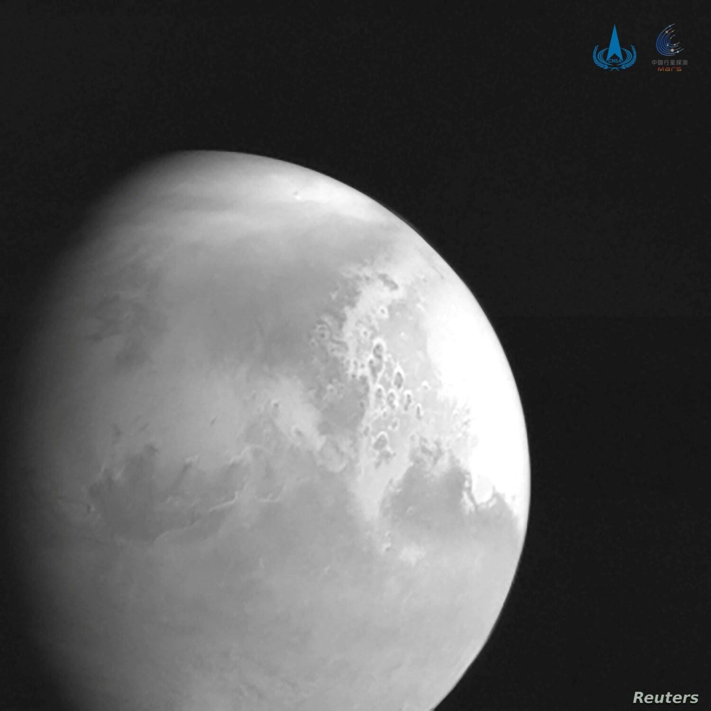 China libera primeira imagem de sonda espacial