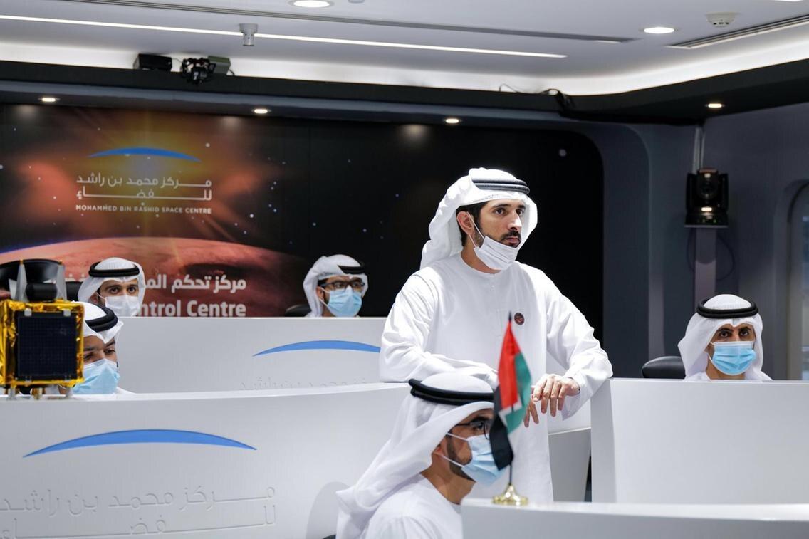 Mesmo que não tenhamos sucesso, fizemos história, diz Xeque Mohammed da missão espacial árabe